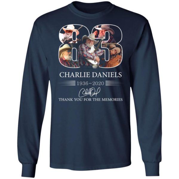 redirect 1111 600x600 - 83 Charlie Daniels 1936-2020 thank you for the memories shirt