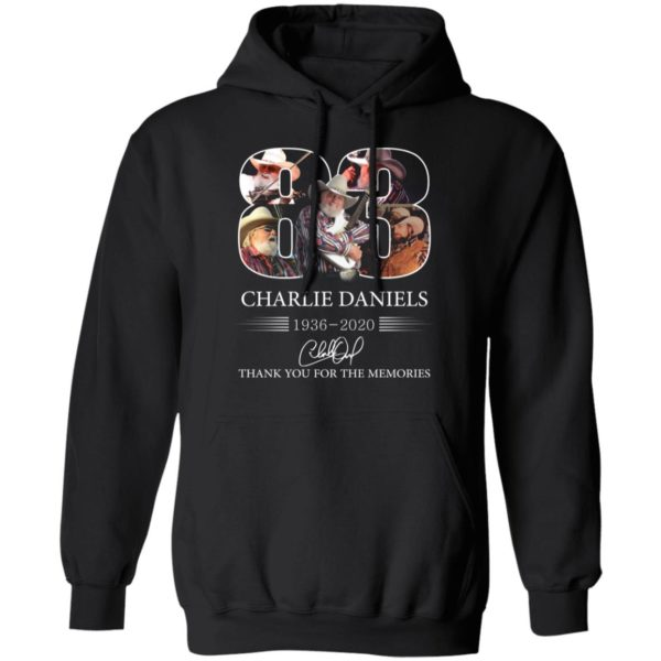 redirect 1112 600x600 - 83 Charlie Daniels 1936-2020 thank you for the memories shirt