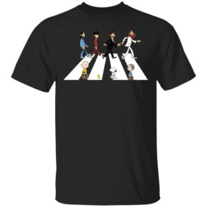redirect 1138 300x300 - Rolling Stones Snoopy The Peanuts Abbey Road Shirt
