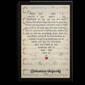 redirect 123 300x300 - Bohemian Rhapsody poster, canvas