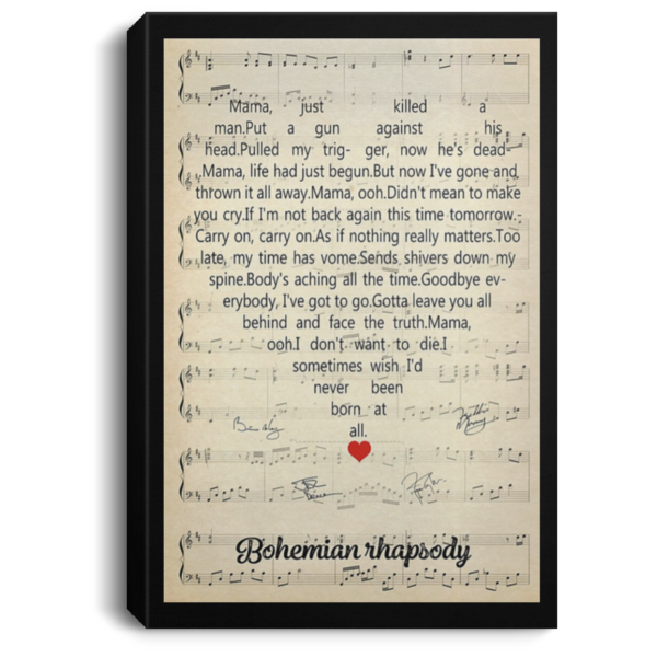 redirect 123 600x600 - Bohemian Rhapsody poster, canvas