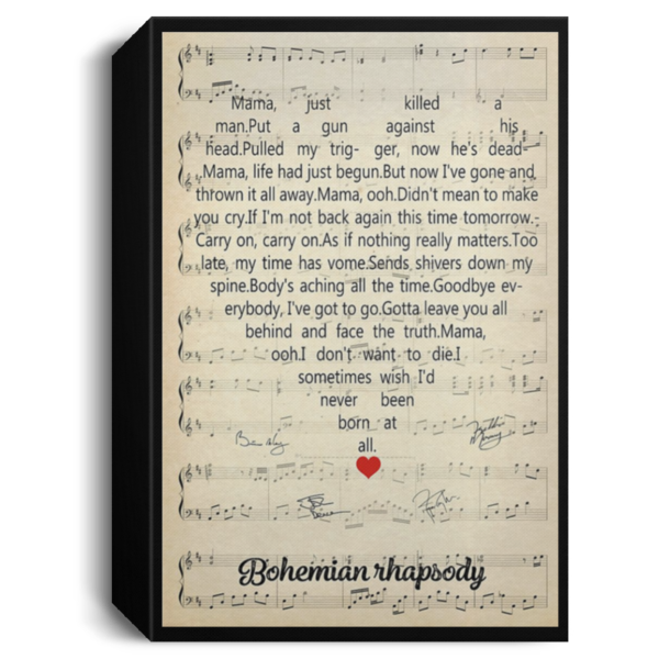 redirect 127 600x600 - Bohemian Rhapsody poster, canvas