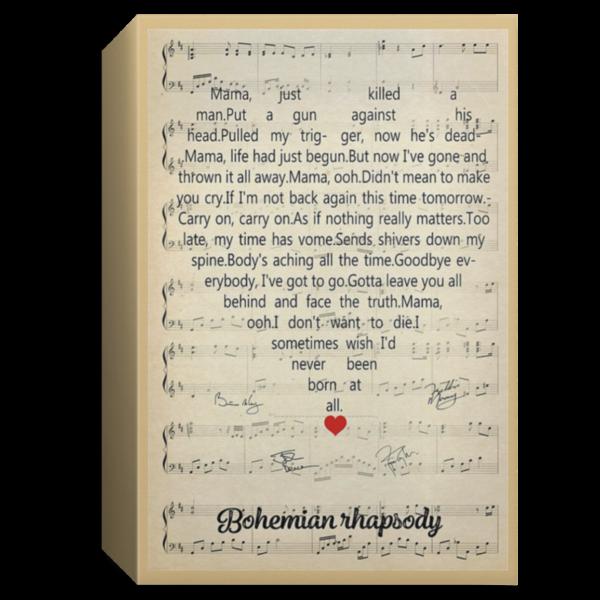 redirect 128 600x600 - Bohemian Rhapsody poster, canvas