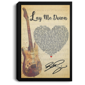 redirect 129 300x300 - Lay Me Down Script Heart Song Lyric Quote Music Poster