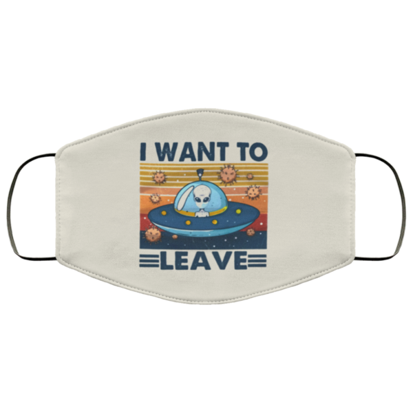 redirect 137 600x600 - Alien I want to leave face mask