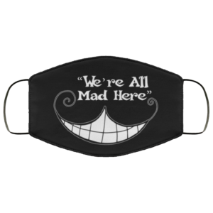 redirect 15 300x300 - We're all mad here Cheshire Cat face mask