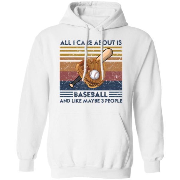 redirect 1865 600x600 - All I care about is baseball and like maybe 3 people vintage shirt