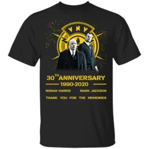 redirect 1958 300x300 - VNV Nation 30th anniversary 1990-2020 thank you for the memories shirt