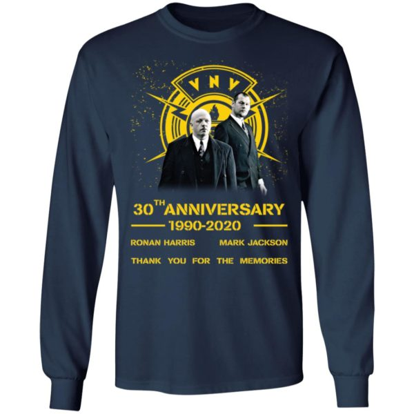 redirect 1963 600x600 - VNV Nation 30th anniversary 1990-2020 thank you for the memories shirt