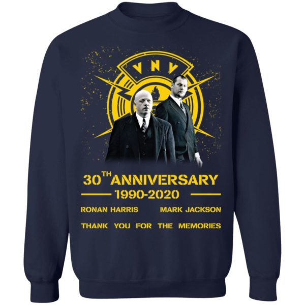 redirect 1967 600x600 - VNV Nation 30th anniversary 1990-2020 thank you for the memories shirt