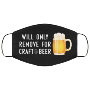 redirect 234 300x300 - Will only remove for craft beer face mask