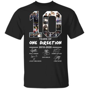 redirect 2390 300x300 - 10 years of One Direction 2010-2020 signature shirt