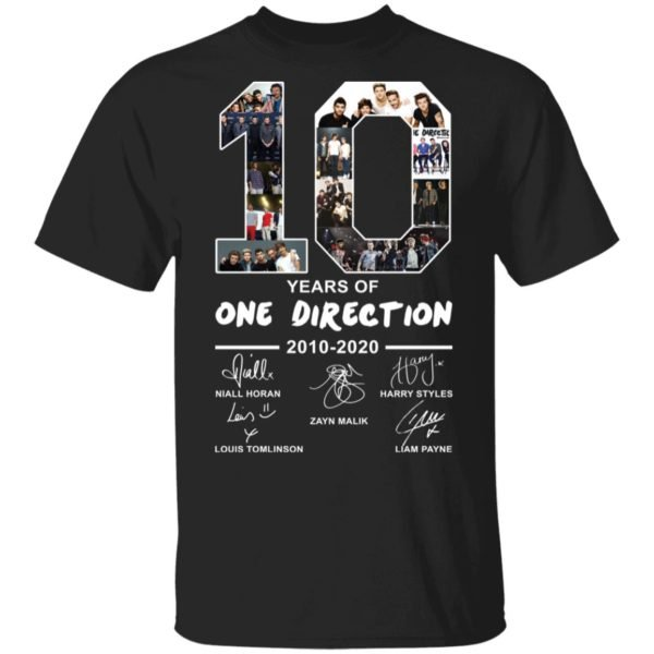 redirect 2390 600x600 - 10 years of One Direction 2010-2020 signature shirt