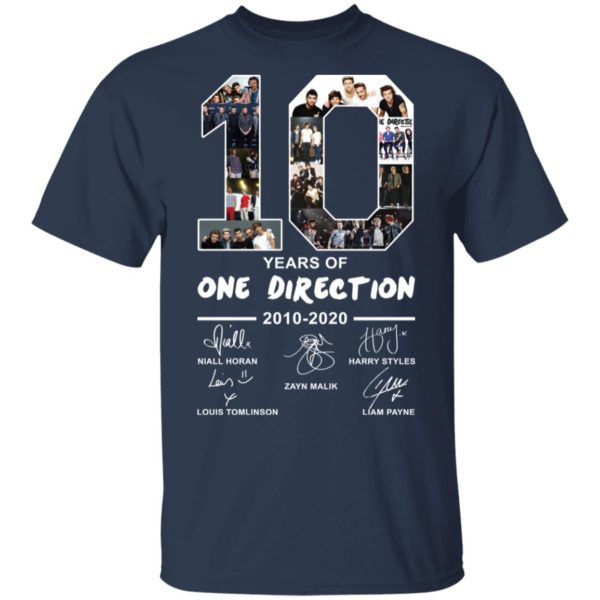 redirect 2391 600x600 - 10 years of One Direction 2010-2020 signature shirt