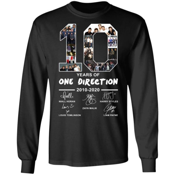 redirect 2394 600x600 - 10 years of One Direction 2010-2020 signature shirt