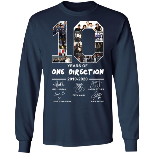 redirect 2395 600x600 - 10 years of One Direction 2010-2020 signature shirt