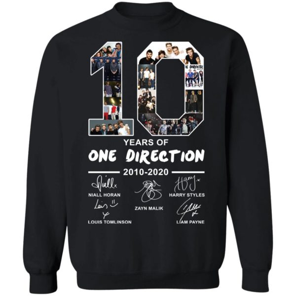redirect 2398 600x600 - 10 years of One Direction 2010-2020 signature shirt