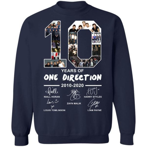 redirect 2399 600x600 - 10 years of One Direction 2010-2020 signature shirt