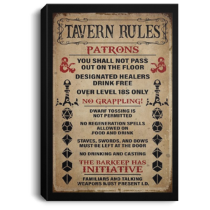 redirect 247 300x300 - Tavern rules patrons poster