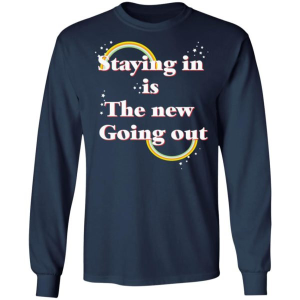 redirect 25 600x600 - Staying in is the new going out LGBT shirt
