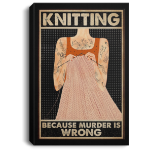 redirect 253 300x300 - Knitting because murder is wrong poster