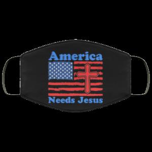 redirect 27 300x300 - America Needs Jesus face mask washable, reusable