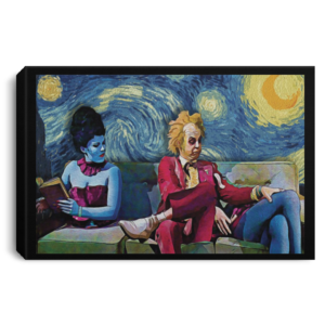redirect 28 300x300 - Beetlejuice The Starry Night poster, canvas