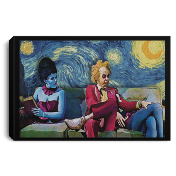 redirect 28 600x600 - Beetlejuice The Starry Night poster, canvas