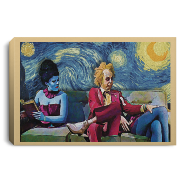 redirect 29 600x600 - Beetlejuice The Starry Night poster, canvas