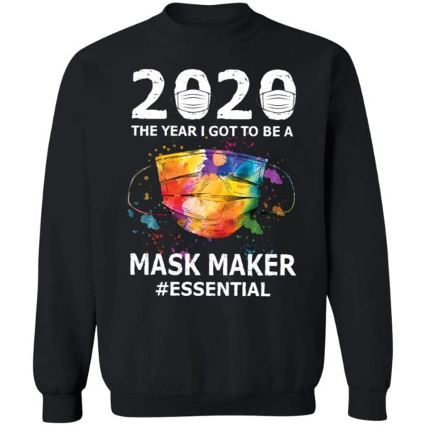 redirect 2940 600x600 - 2020 the year I got to be a mask maker shirt