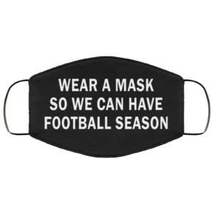 redirect 299 300x300 - Wear a mask so we can have football season face mask
