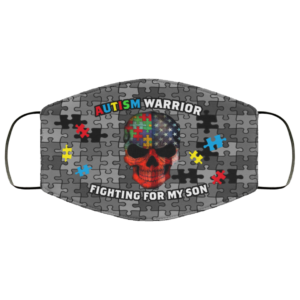 redirect 313 300x300 - Autism warrior fighting for my son face mask