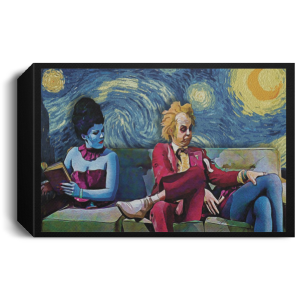 redirect 32 600x600 - Beetlejuice The Starry Night poster, canvas