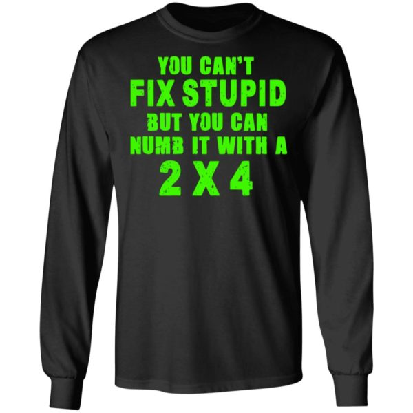 redirect 324 600x600 - You can't fix stupid but you can numb it with a 2x4 shirt