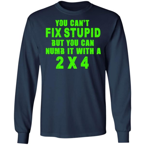 redirect 325 600x600 - You can't fix stupid but you can numb it with a 2x4 shirt