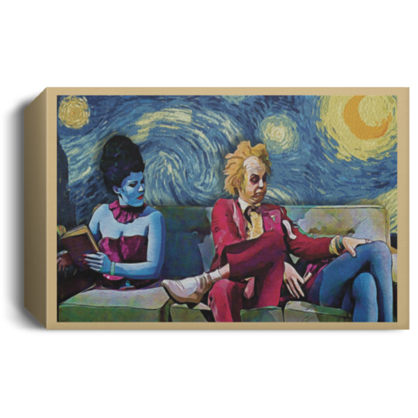 redirect 33 600x600 - Beetlejuice The Starry Night poster, canvas