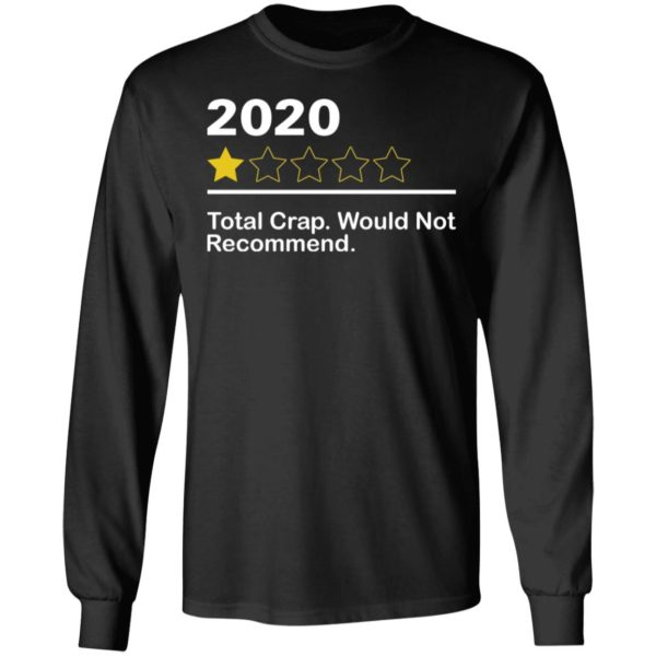redirect 3964 600x600 - 2020 total crap would not recommend shirt