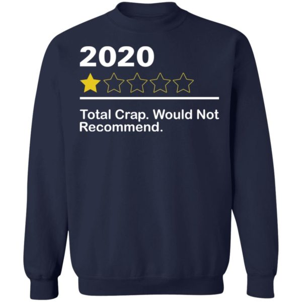 redirect 3969 600x600 - 2020 total crap would not recommend shirt