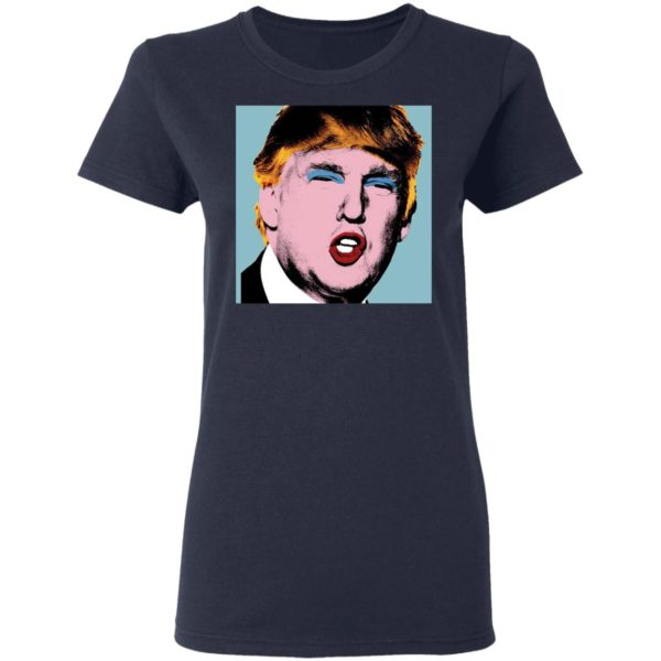 redirect 4154 600x600 - Trump with makeup on his shirt