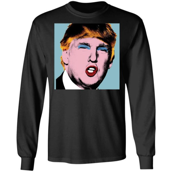 redirect 4155 600x600 - Trump with makeup on his shirt