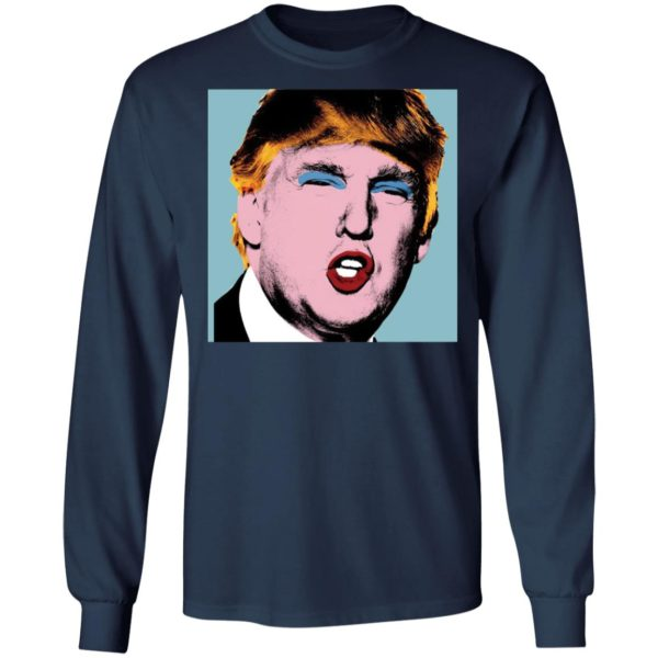 redirect 4156 600x600 - Trump with makeup on his shirt