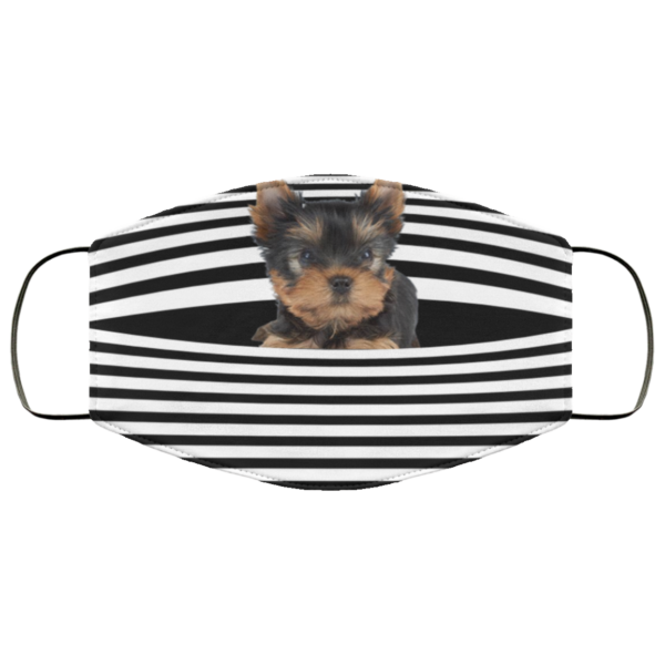 redirect 417 600x600 - Yorkshire Terrier Stripes face mask