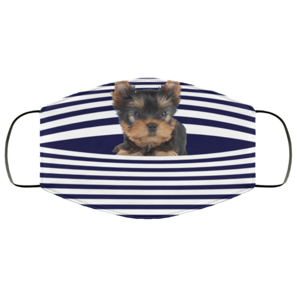 redirect 418 600x600 - Yorkshire Terrier Stripes face mask