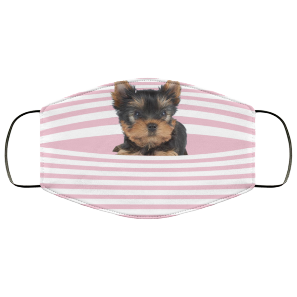 redirect 419 600x600 - Yorkshire Terrier Stripes face mask