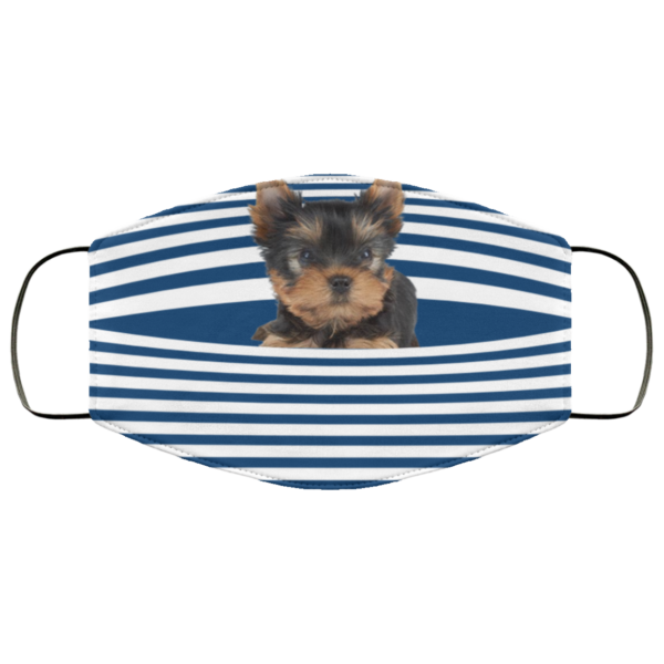 redirect 420 600x600 - Yorkshire Terrier Stripes face mask