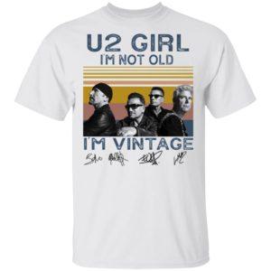 redirect 4553 300x300 - U2 Girl I'm not old I'm vintage signature shirt