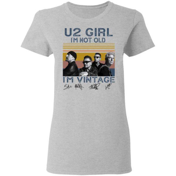 redirect 4556 600x600 - U2 Girl I'm not old I'm vintage signature shirt