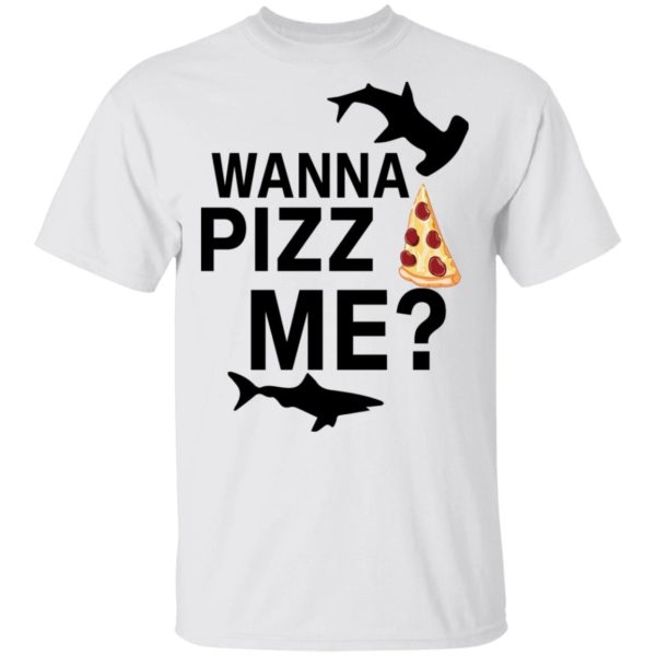 redirect 4603 600x600 - Shark wanna pizza me shirt