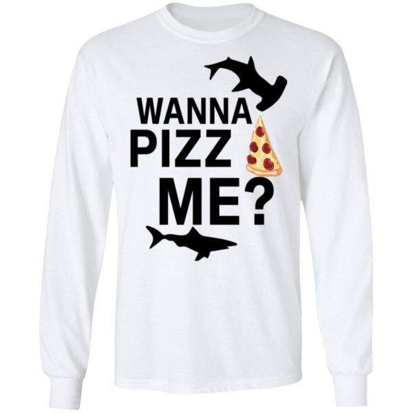 redirect 4608 600x600 - Shark wanna pizza me shirt
