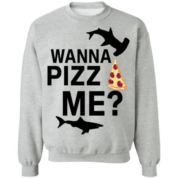 redirect 4611 600x600 - Shark wanna pizza me shirt